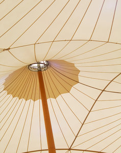 Tent: Cover of the restaurant area of one shopping center near Lisbon, Portugal.