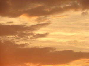 orange clouds 1