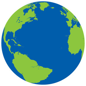 Planet Earth: Planet Earth vectored