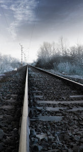 away: rail road