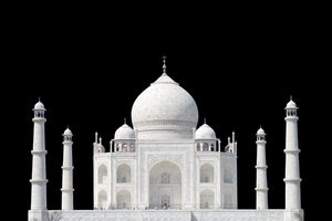 TAJ MAHAL 2: Taj - on Black Background
