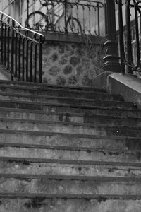 Stairs of Montmartre in Paris