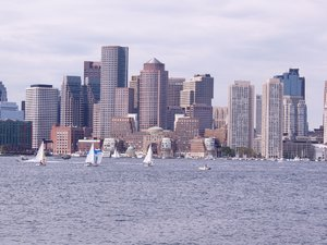 Boston 3: Boston skyline and harbour