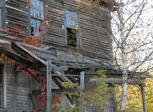run down: Old house in the country