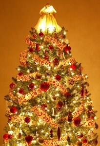 Christmas tree 1: A variation of our decorated tree