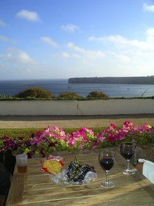 End of the world: View from Pousada de Infante, Sagres, Portugal. Europes south-west corner