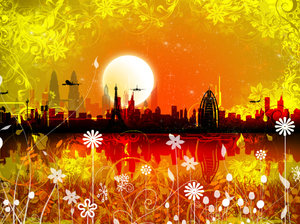 Dreamscape 5: Cityscape in a series of colours and concepts.I was trying a set of new photoshop brushes I downloaded yesterday and this is what I came up with.Please comment and vote.Check my gallery for more interesting variety of images. You'd love it.Love you all !