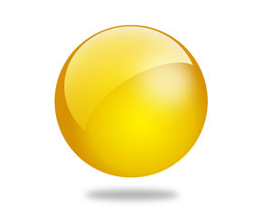Glossy Ball 10: Set of different colored gloss ball illustrations