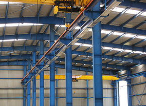 Industrial Warehouse 4: A newly constructed shop floor for an industry