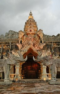 Temple 1: It's actually a theatre, but looks like a temple... ThailandNB: Credit to read