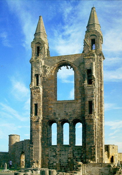 Ruins 1: Ruins of St Andrews Cathedral, Scotland