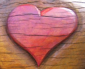 wooden heart: wooden heart - unfulfilled love?