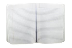 Composition Book: A college exam book.