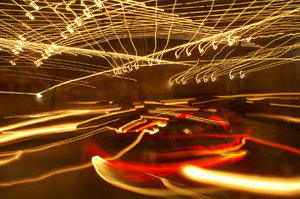 Dodgem Abstract: Time Exposure on Dodgem Cars at local fair Comments Welcome :)
