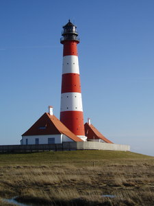 lighthouse: westerhever lighthouse