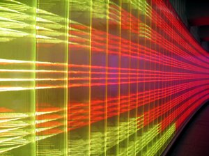 abstract light wall: abstract light wall