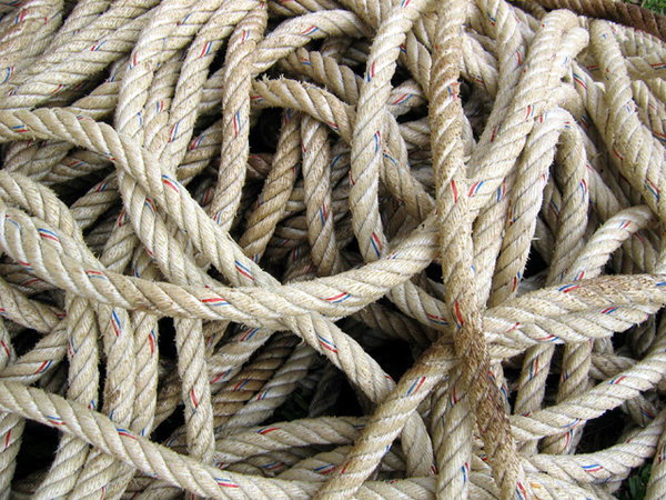 Rope: Please contact me if you need the photo in a larger size.