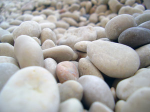 Stones: Cala Mariuolo beach (Sardinia - Italy)