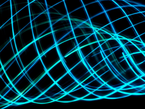 blue 1: playing with lights