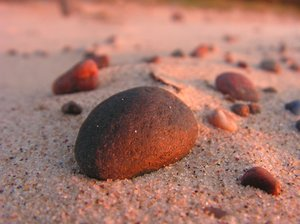 Stones 3: Stones on the beach