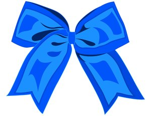 Bloo Ribbon: Vector art done in Illustrator