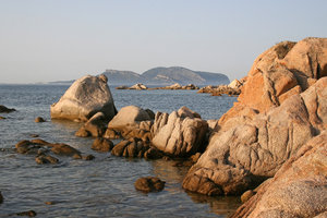 Shoreline 1: The boulder-strewn coast of Sardinia.