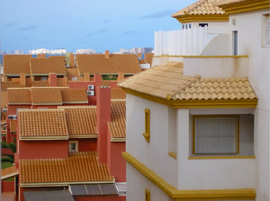 Roofs: Spanish town