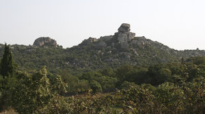 Precarious boulders: Precarious stacks of granitic boulders in the hills of northwest Sardinia.