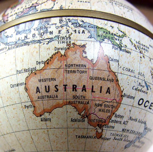 old world Australia