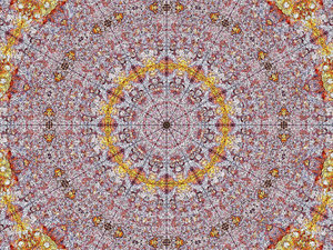 rusty radial mandala: abstract backgrounds, textures, patterns, kaleidoscopic patterns, circles, shapes and  perspectives from altering and manipulating images