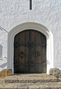 Church door: no description