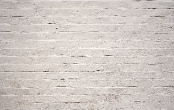pared de ladrillo blanco: