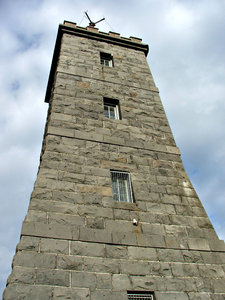 historic tower: historic time ball tower in Williamstown, Victoria, Australia