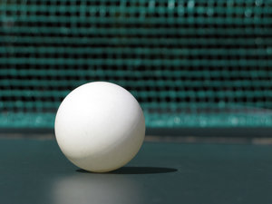 ping pong ball: none