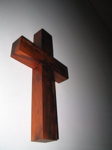 Cross: Wood cross