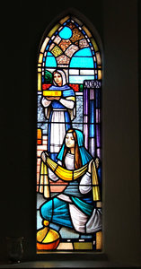 glass pictures: story pictures in stained glass - art glass windows