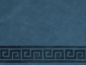 Blue Textured Border: Parchment textured background with rich blue scrolls border.  Lots of copyspace.