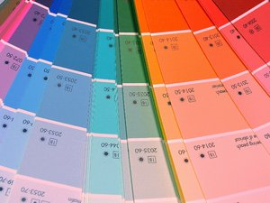 Color design: Design palette for choosing paint colors