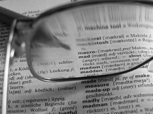 macro: need my glasses