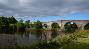 Views of the Stirling Bridge: Stirling Bridge is where the battle of Stirling Bridge took place - the present bridge is somewhat younger, built in the XVI century.