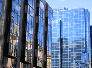 modern glass offices 4: modern glass offices architecture found in Glasgow, Scotland.