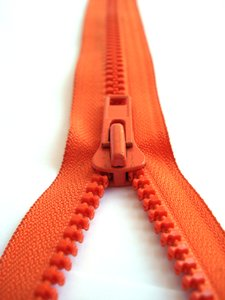 Orange Zipper 1