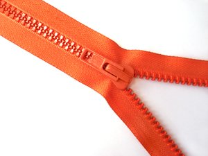 Orange Zipper 3