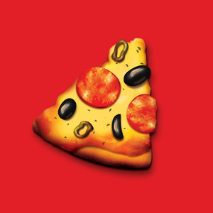 Slice of Pizza: Photoshop render of a slice of pizza