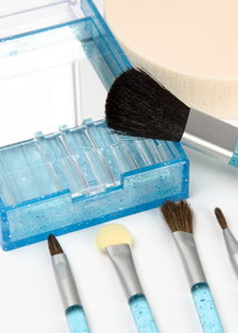 brushes: make-up set