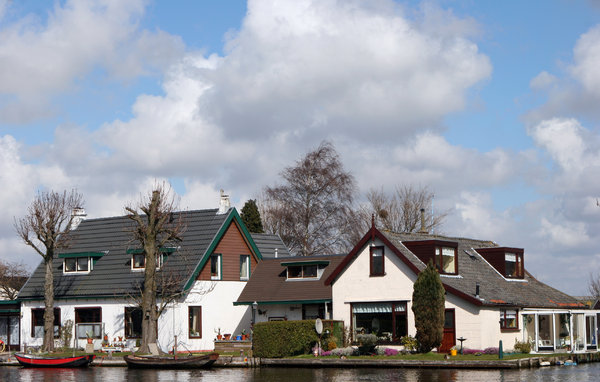 holland: view for villages in Holland