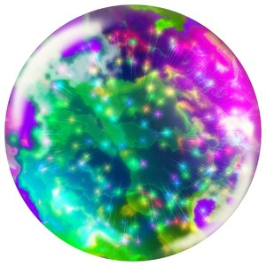 Abstract Bauble 3