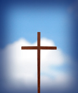 Cross Sky: A wood cross with a sky background.Please visit my gallery at:http://www.thinkstockphot- os.com/search/#%27Billy%2- 0Alexander%27/c=431,253,2- 8,34,260,13,268,515,477,2- and:http://www.dreamstime.com- /Billyruth03_portfolio_pg- 1