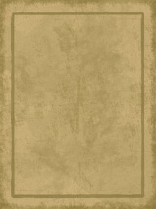 Parchment Border 3: Grungy parchment background illustration with border.