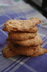 Almonds biscuits: Almonds biscuits